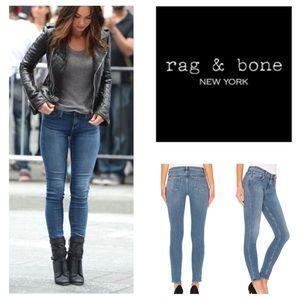 Rag & Bone Stearling Mid Rise Skinny Jeans.  NWT.